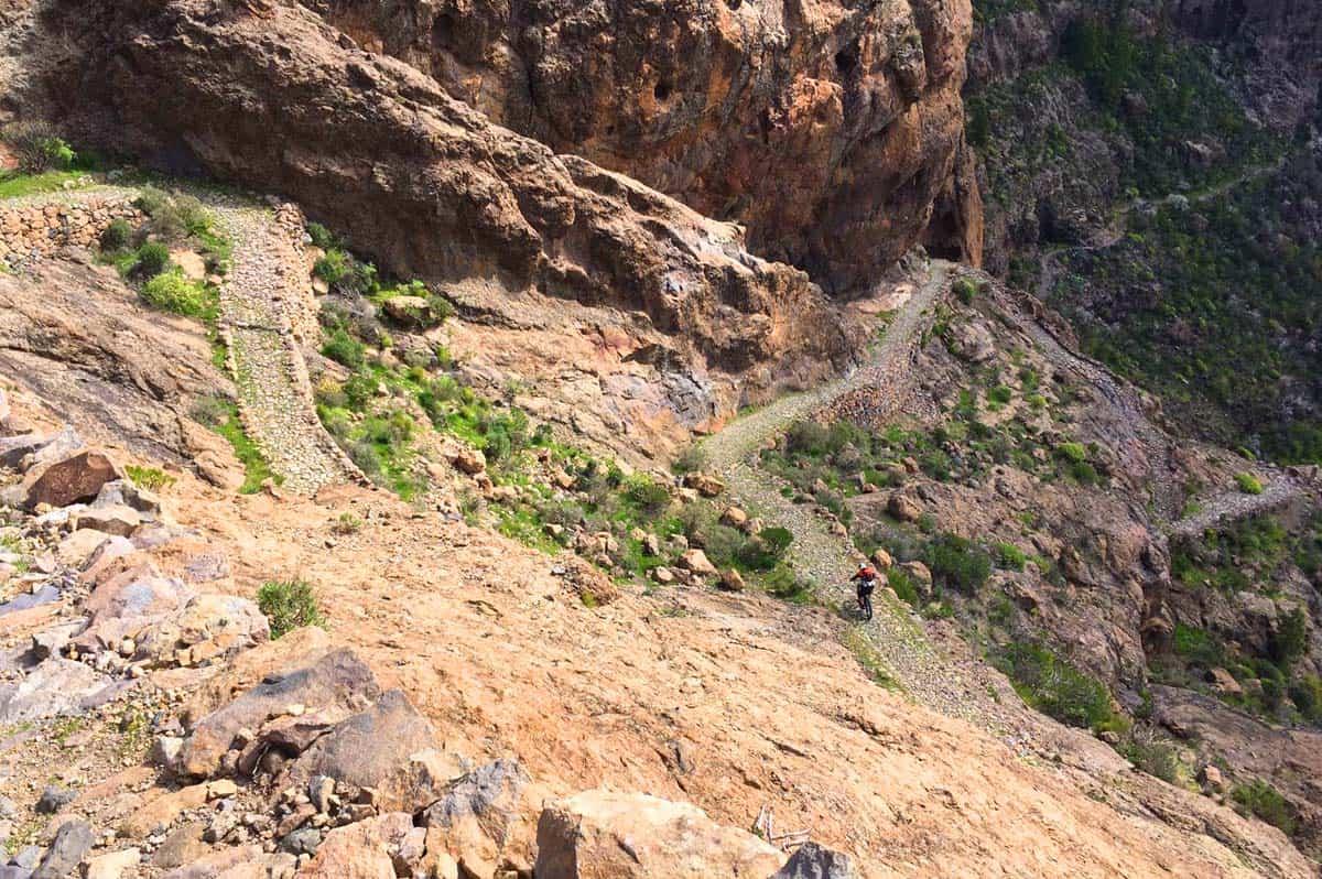 Camino de la plata mountain bike tour