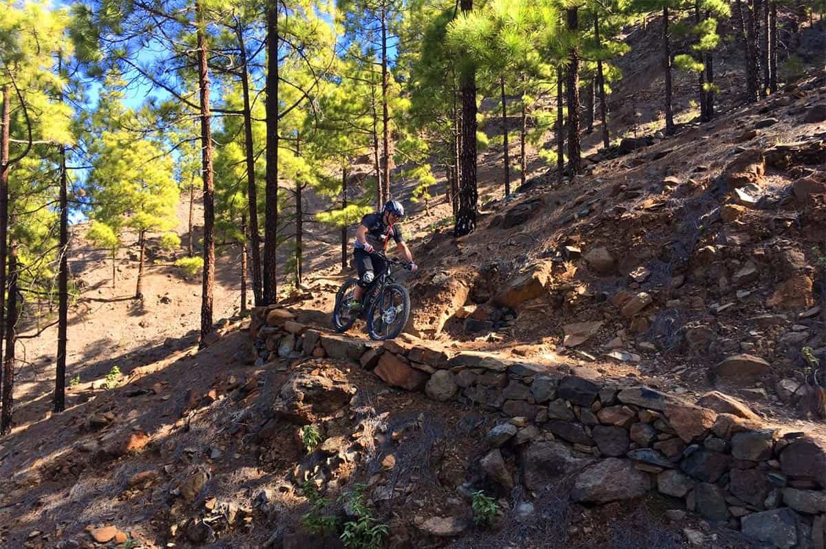 Canyonlands - Gran Canaria Mountain bike tour