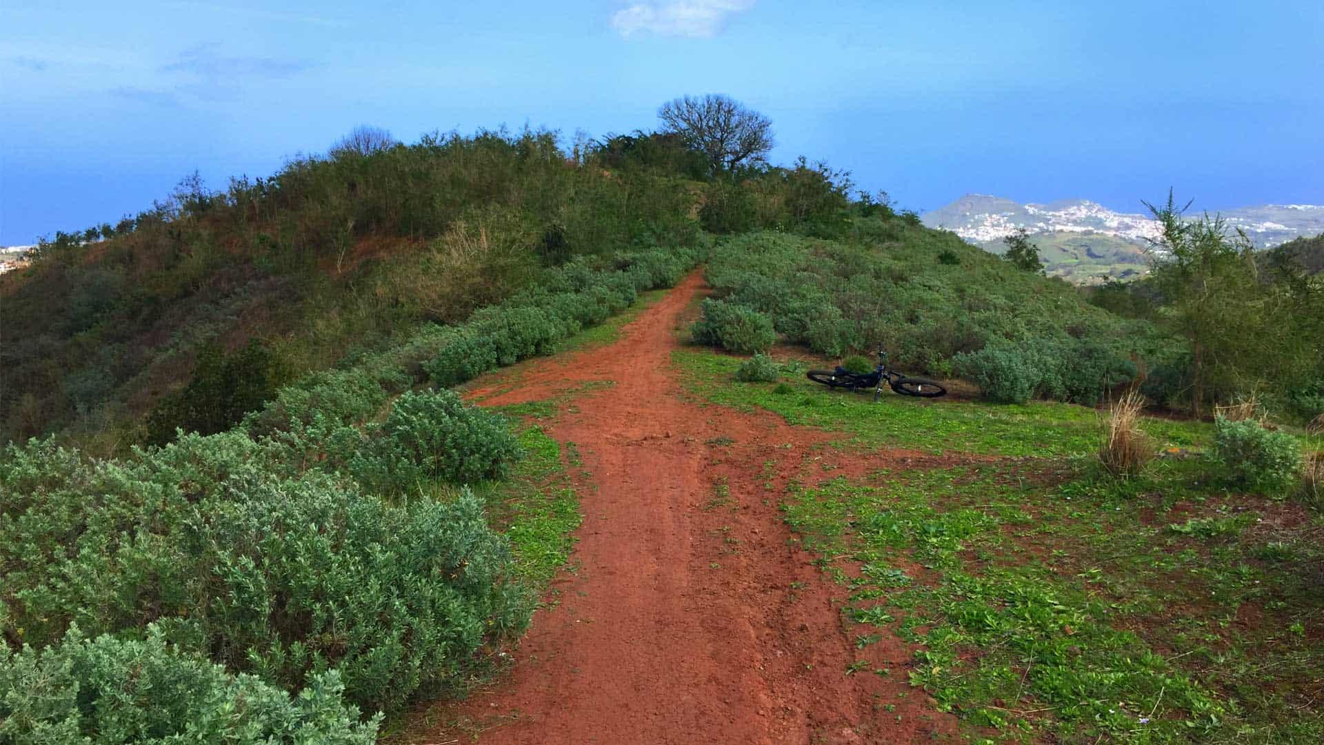 Gran Canaria Mountain bike - green north escape trail