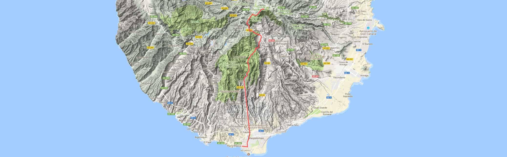Camino de la Plata mountain bike track