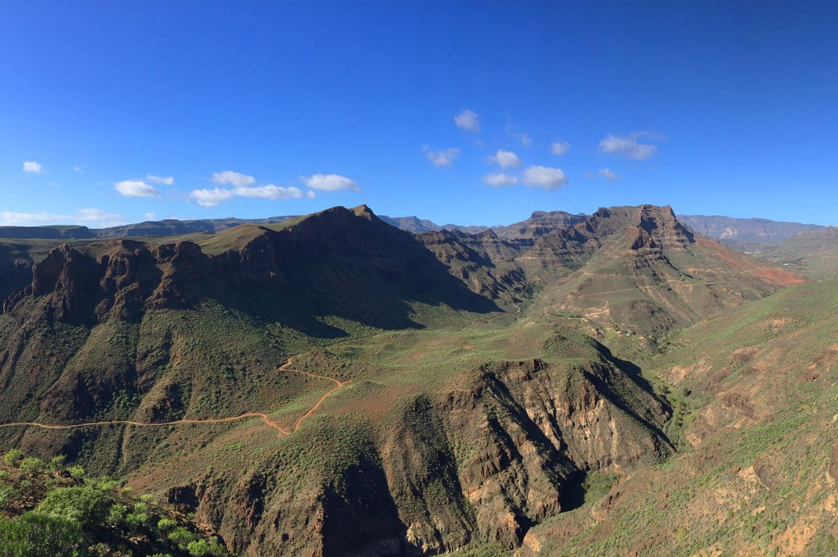 Grand Canyon - Gran - Canaria Mountain Bike tour