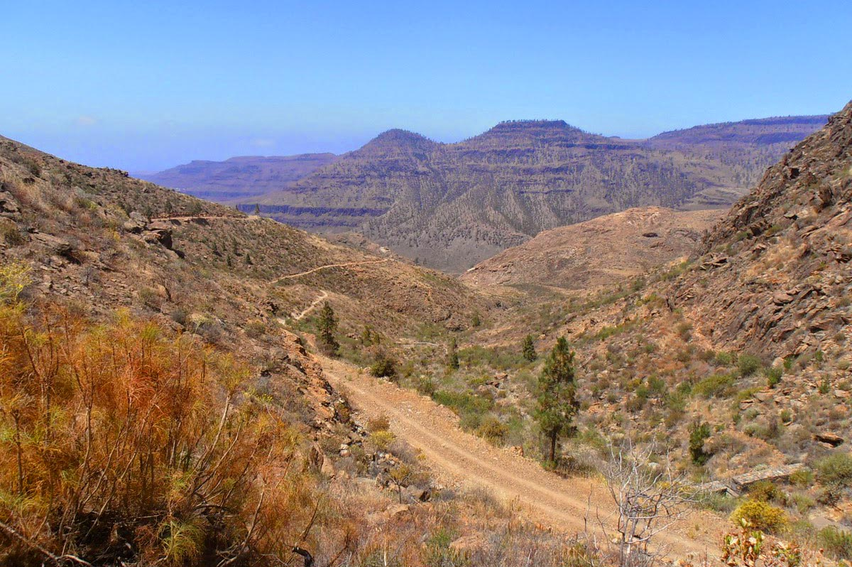 El Diablo - Gran Canaria mountain bike tour