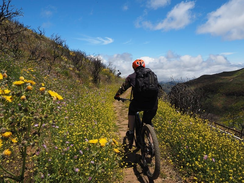 Awesome Gran Canaria weather conditions on mountains