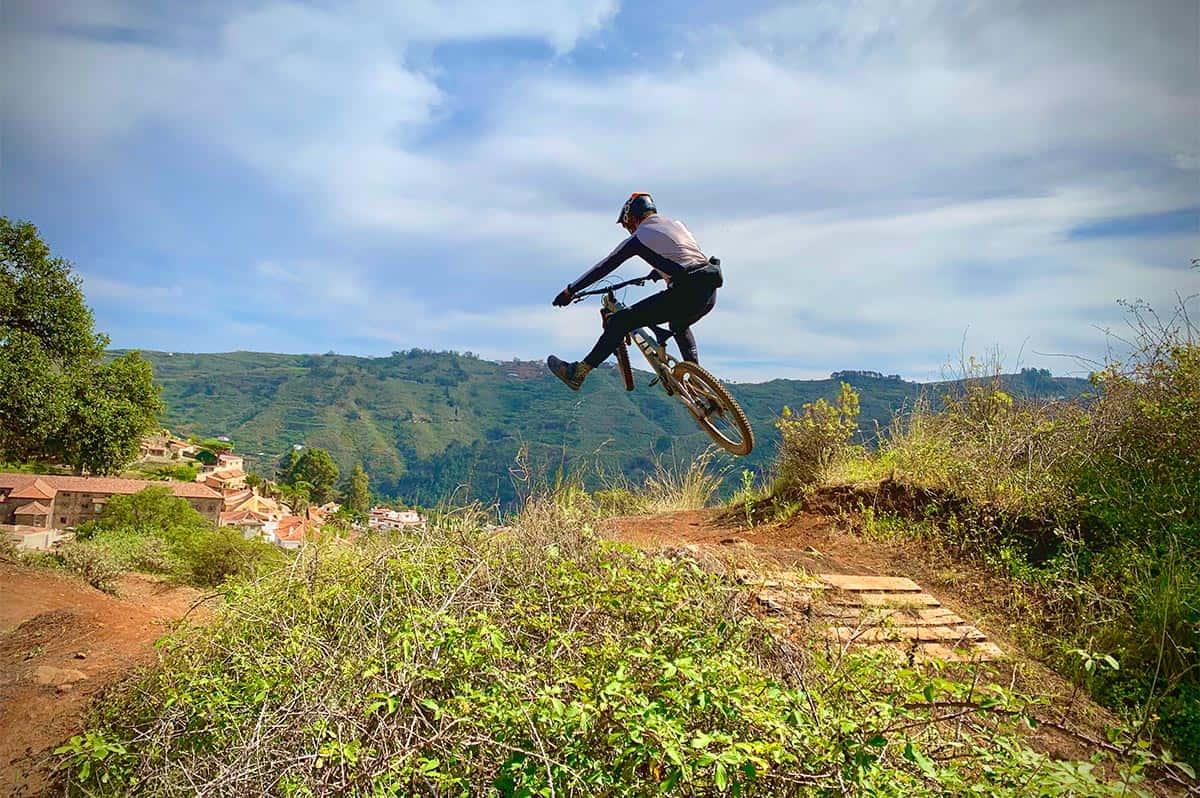 Gran Canaria Enduro mountain bike - Green Nirvana Trail
