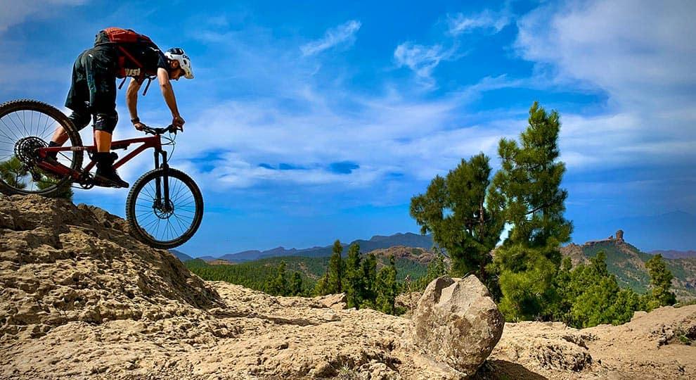 Gran Canaria Enduro mountain bike - Green Nirvana