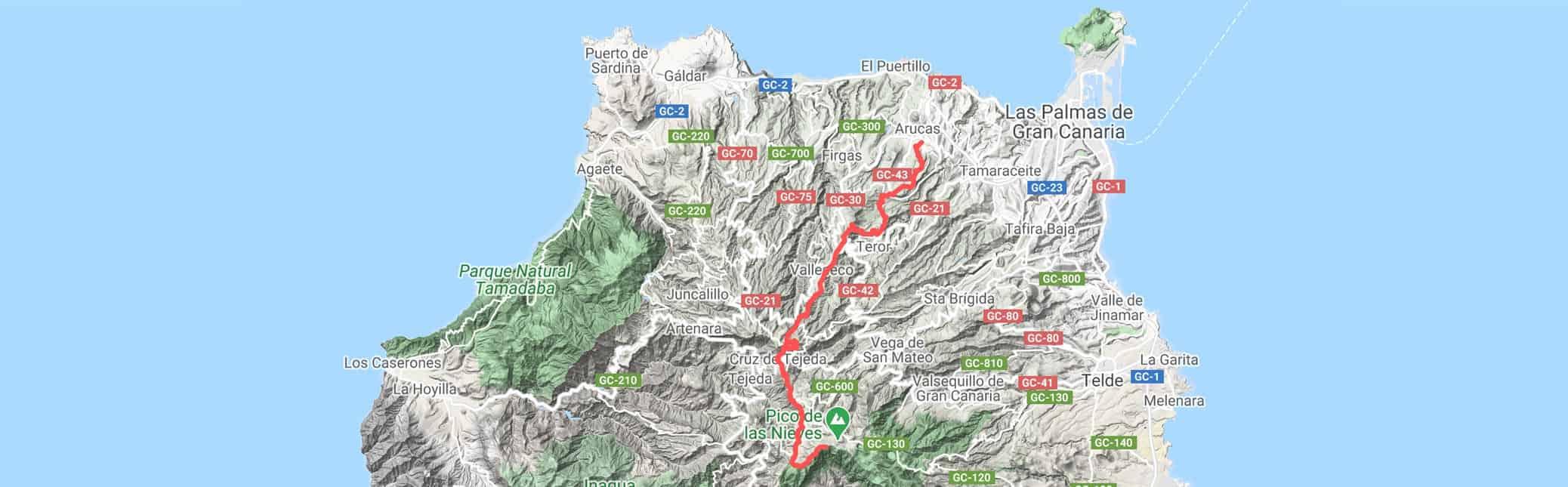 Gran Canaria Enduro - Green Nirvana track