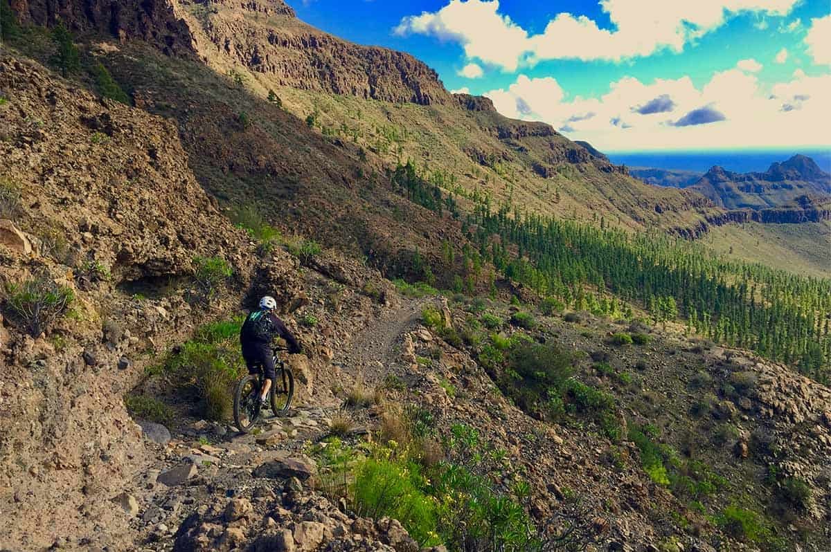 el diablo trail enduro gran canaria mtb tour